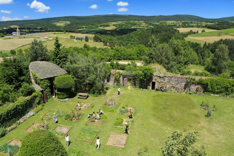 jardin martin ecomusee cantal auvergne