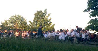 Concert au jardin