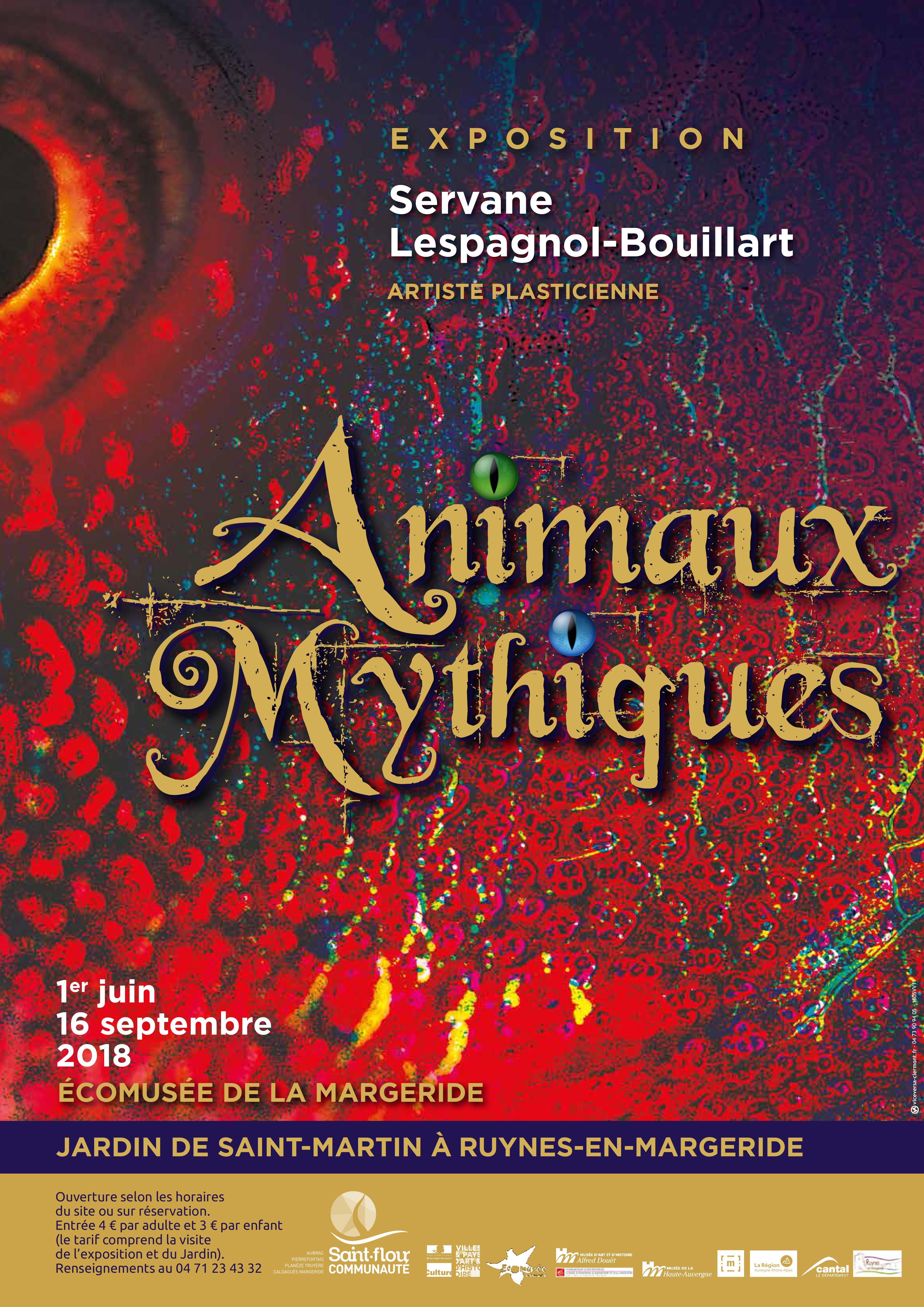 Animaux mythiques – 1er juin au 16 septembre 2018